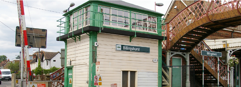 Billingshurst Station Platform Extensions DEG Signal – Railway Signalling Design & Consultancy